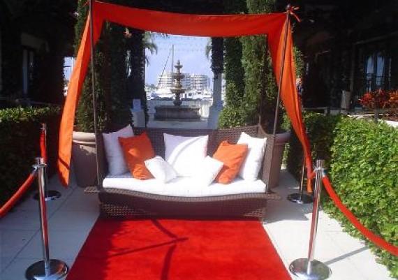 Corporate events, Furniture event rentals, furniture rental, Chillounge Night, Sarasota, Tampa, St Petersburg, orlando