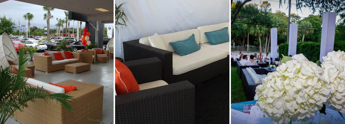 Event Rentals Chillounge Night Furniture Tampa St Petersburg