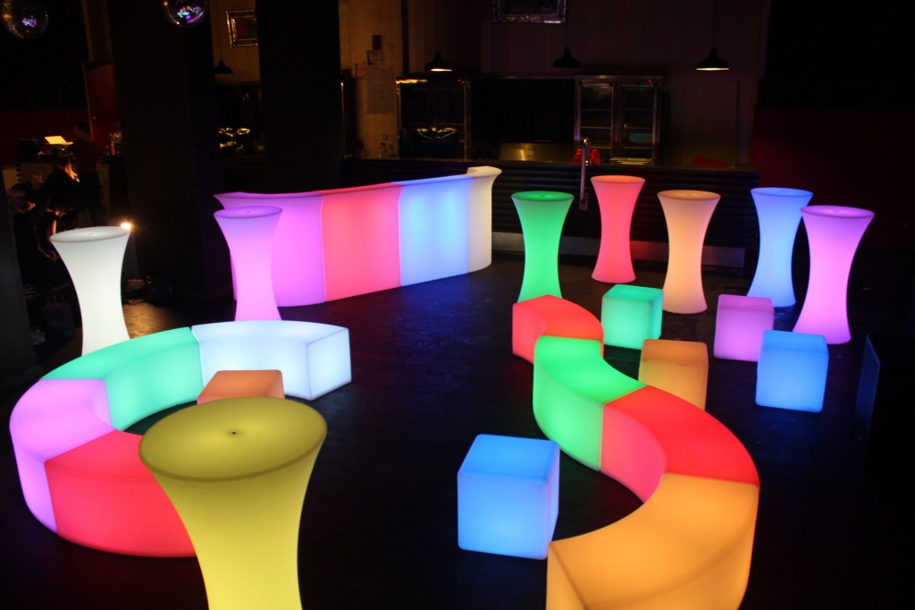 Led Furniture Will Transform Any Party Or Event To An