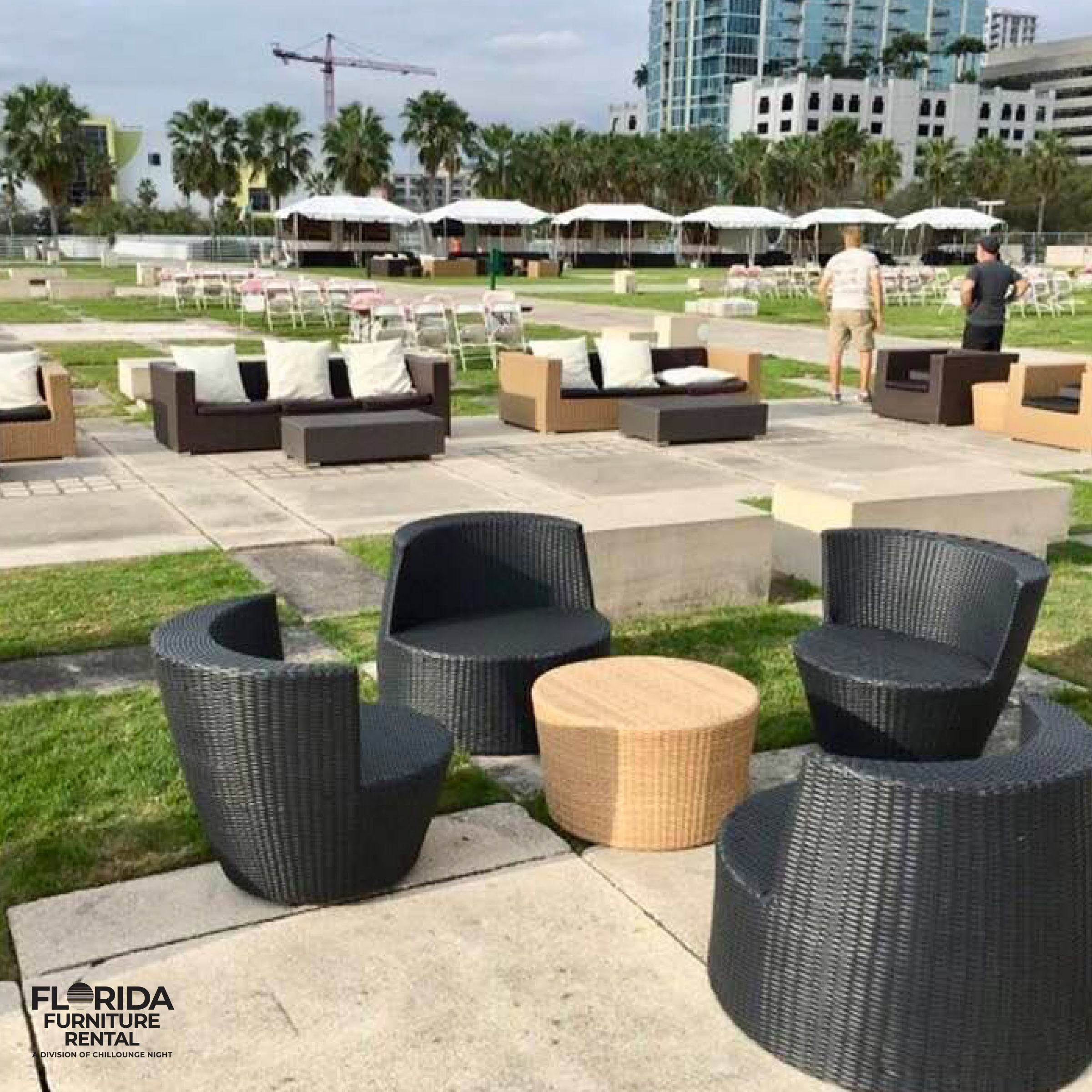 Lounge Furniture Rentals for events